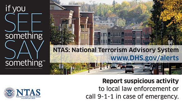 NTAS - National Terrorism Advisory System