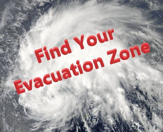Find Your Evacuation Zone Opens in new window