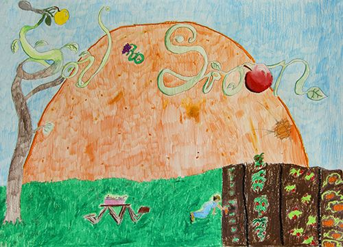 Grade 4 to 6, First Place Winner: Xiomara Roberge