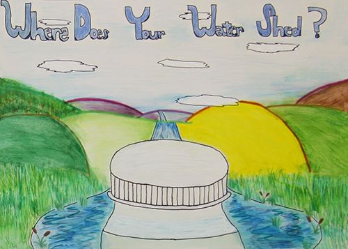 Grade 7 to 9, Second Place Winner: Kelly Wu